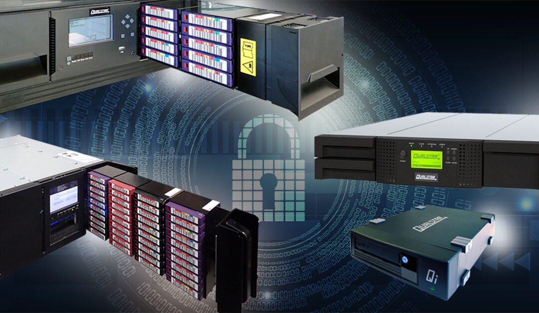 How the Layers of Data Security Offered by Magnetic Tape Storage Can Protect Your Business